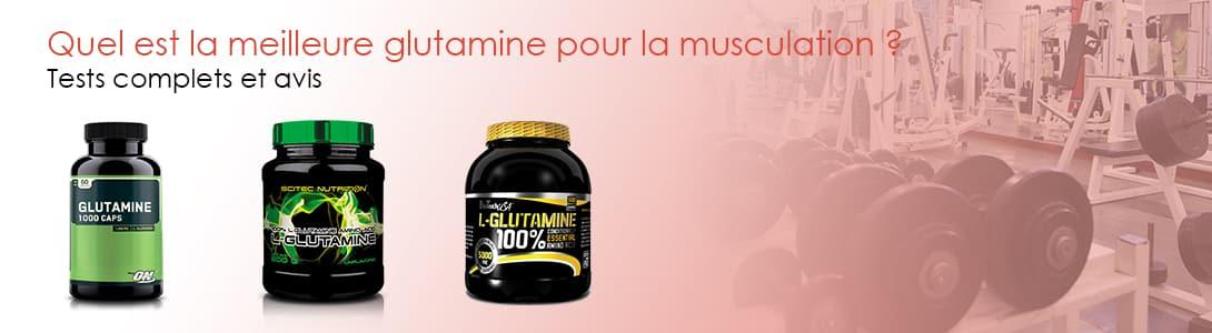 meilleure glutamine musculation