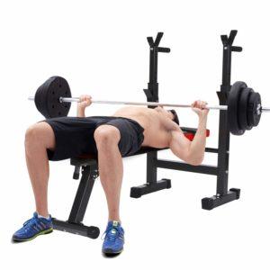 banc de musculation débutant