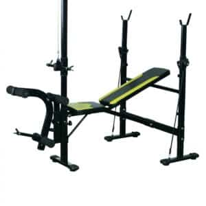 banc de musculation dossier inclinable