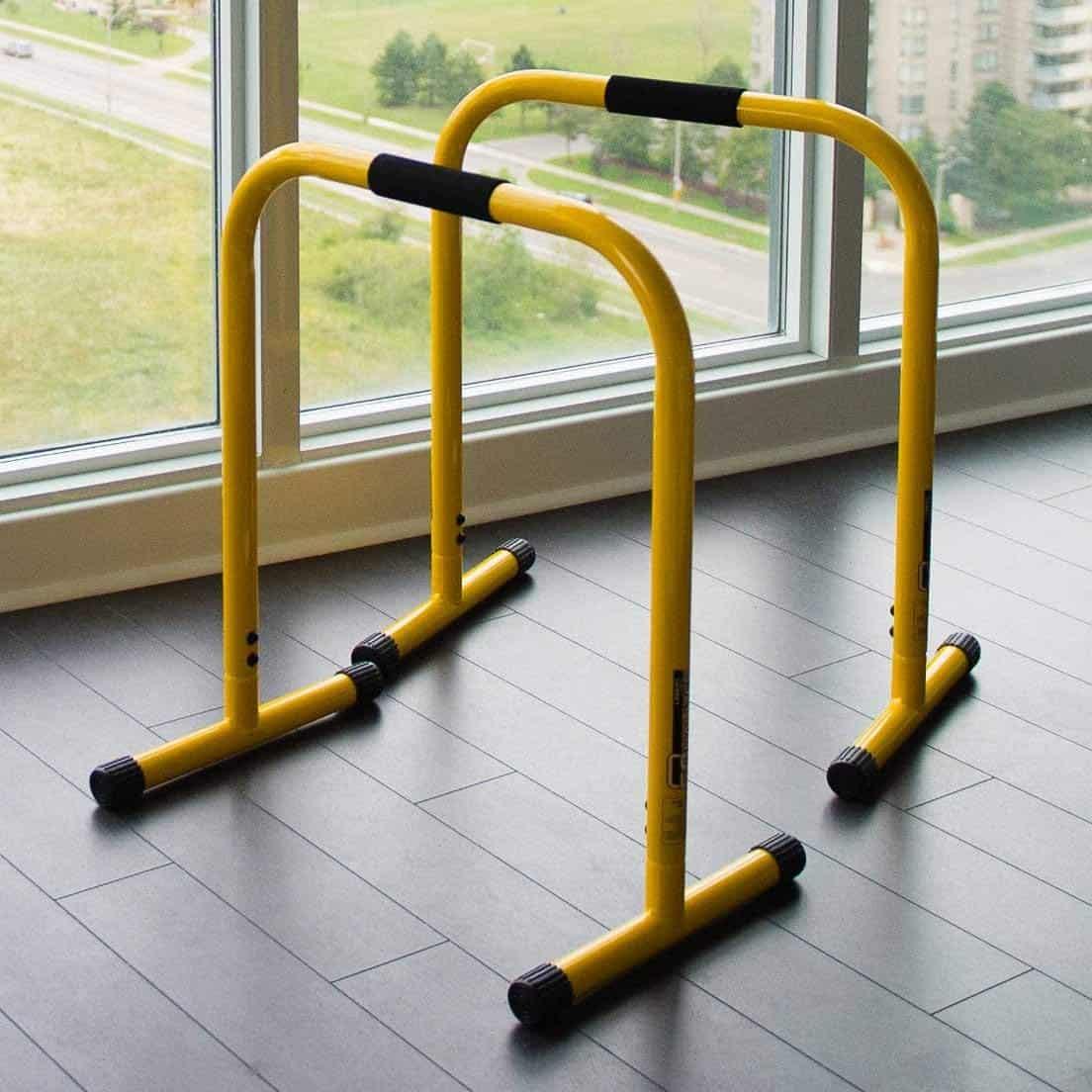 Dip Equalisateur Gym Crossfit Parallettes 76 90cm Hlc Barres