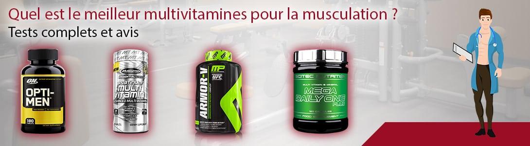 meilleur multivitamines musculation