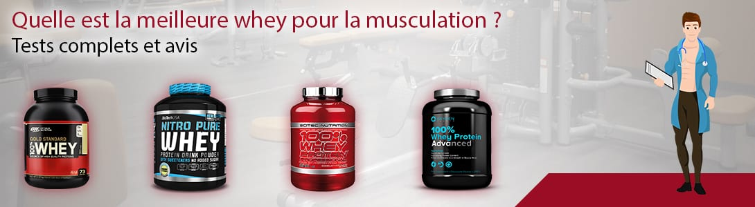 meilleure whey musculation