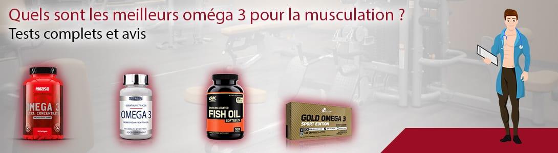 meilleurs omega 3 musculation
