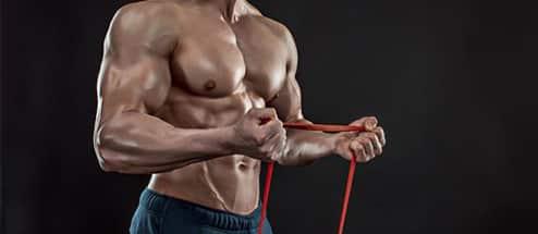 bande de résistance élastique musculation