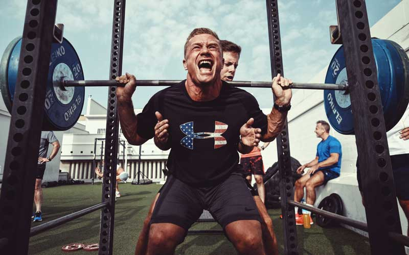 cage à squat musculation crossfit