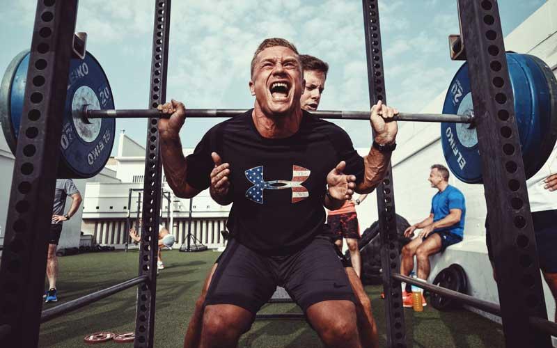 cage à squat musculation crossfit