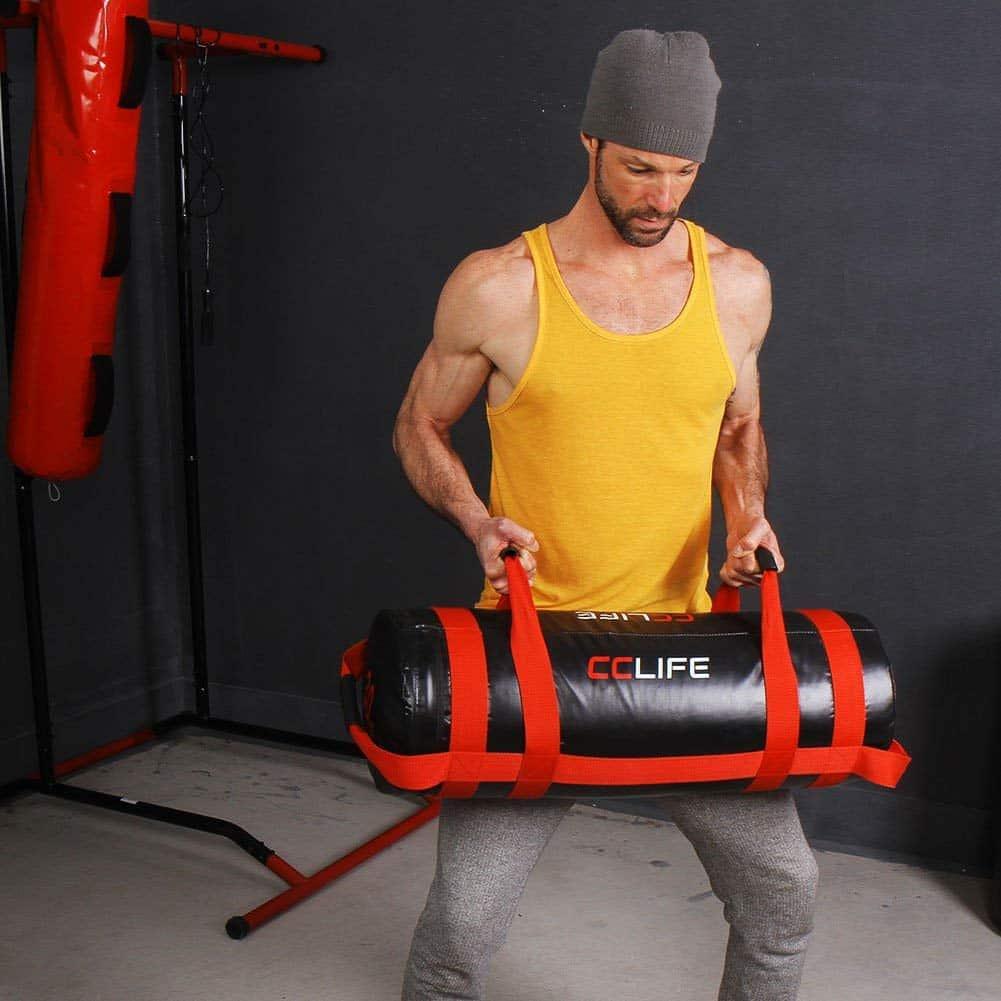 30/kg MADX Power Chiffon//Sac rempli de Sable Crossfit de Boxe MMA entra/înement Fitness 0