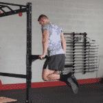cage à squat avec barre de dips