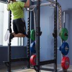 cage à squat avec barre de traction