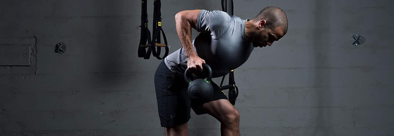 2+2+4+6 Kettlebells Poids Force Fitness Maison Gym Entraînement Vinyle 14 kg Yoga