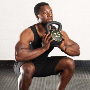 musculation avec kettlebell