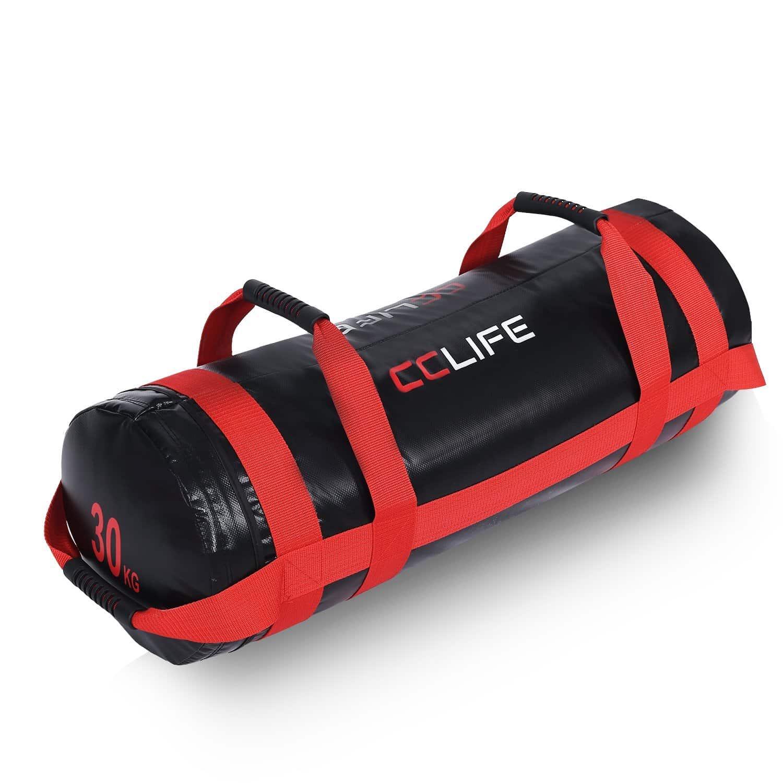 PoeticHouse Sac Lest/é Musculation Sandbag Powerbag Sac Musculation 5kg 10kg 15kg 20kg Heavy Duty Sac De Sport Dentra/înement De Forme Physique