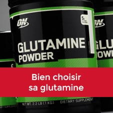 Bien choisir sa glutamine