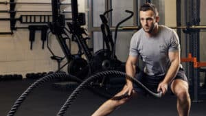 battle rope musculation