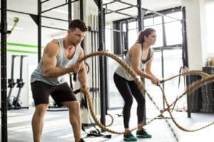 entrainement battle rope