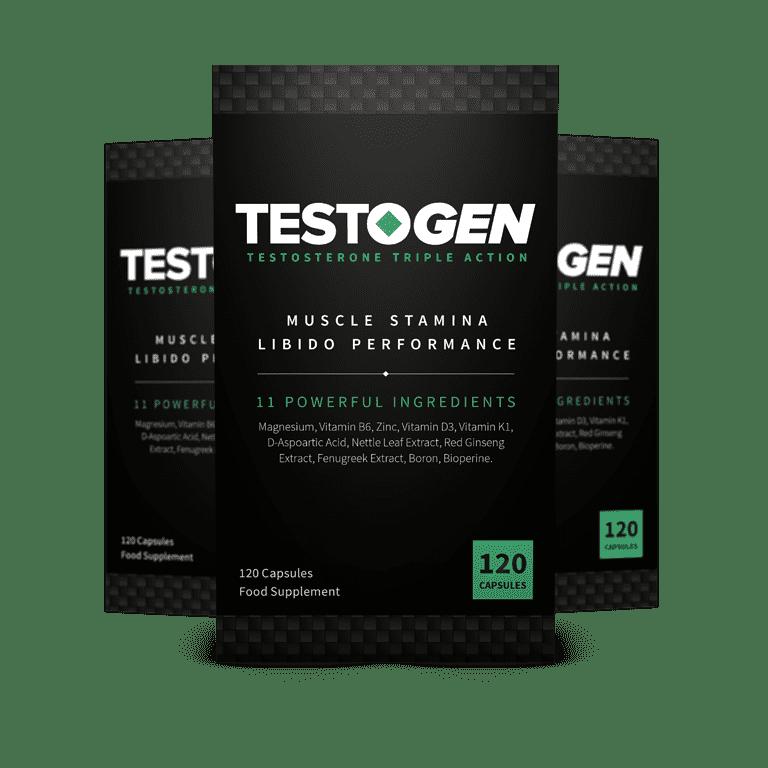 TestoGen - Booster de testostérone efficace sans effets secondaires