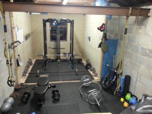 aménager une salle de musculation maison