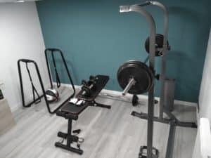 créer une salle de muscu à la maison