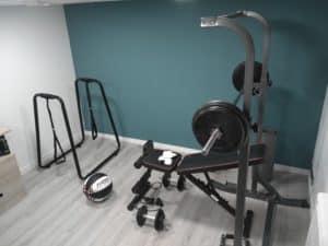 faire une salle de musculation chez soi