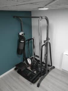 petite salle de sport maison