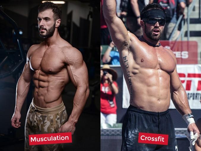 résultats musculation et crossfit