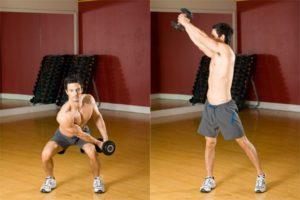 exercice musculation abdominaux bucheron