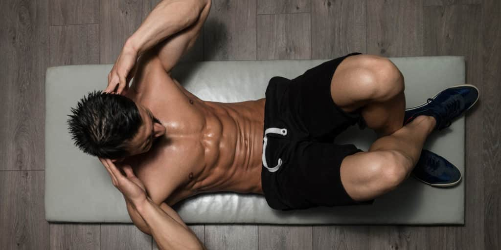 exercice ventre plat crunch abdominaux