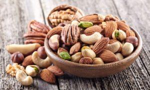 fruits à coques et noix omégas 3