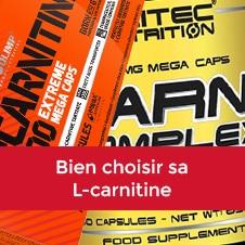 Bien choisir sa L-carnitine