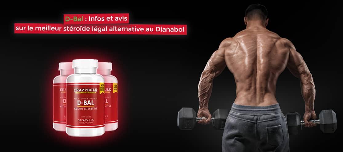 D-Bal infos et avis sur le meilleur stéroïde légal alternative au Dianabol