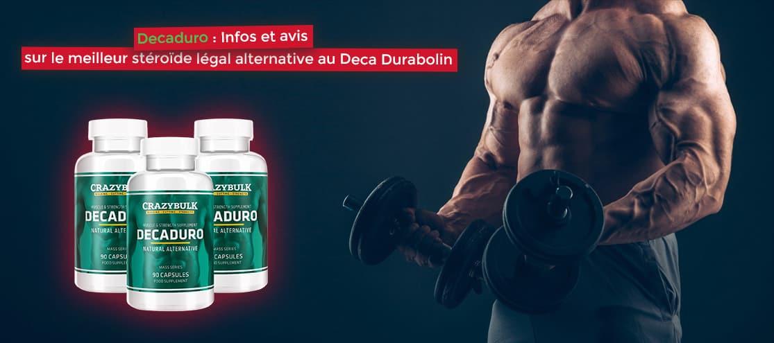 Decaduro Infos et avis sur le meilleur stéroïde légal alternative au Deca Durabolin