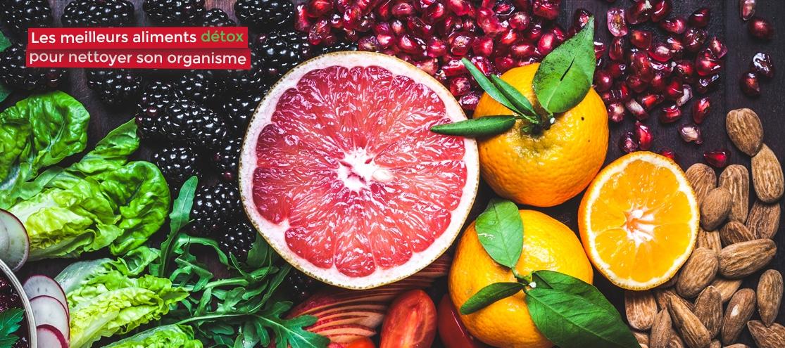 les meilleurs aliments détox pour nettoyer son organisme