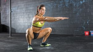 squat poids de corps