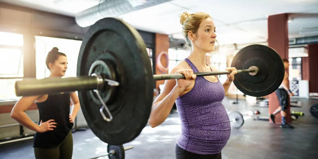 musculation et crossfit enceinte