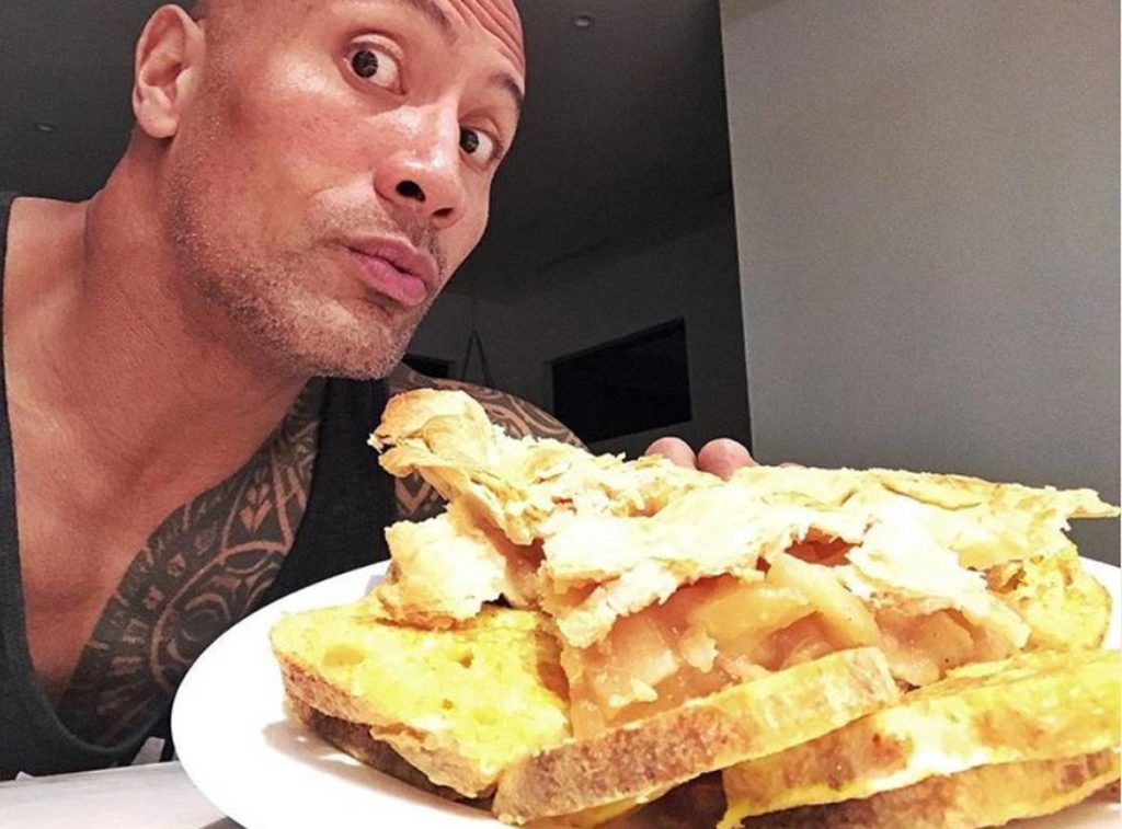 cheat meal the rock