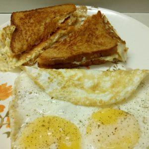 petit déjeuner musculation oeufs