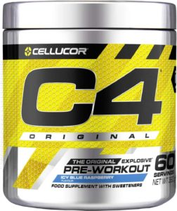 Cellulor C4 Original booster pre workout
