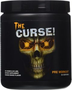 The Curse Cobra Labs booster pre workout