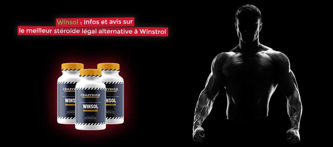 Winsol : Infos et avis sur le meilleur stéroïde légal alternative à Winstrol