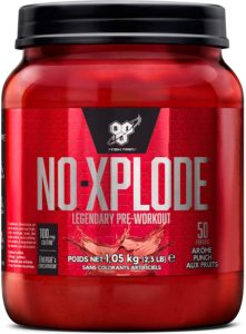 bsn no xplode booster pre workout