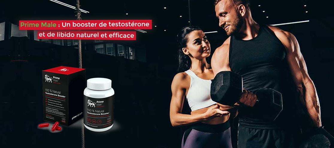 Prime Male : Un booster de testostérone et de libido naturel et efficace