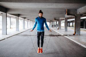 corde à sauter pour perdre du poids
