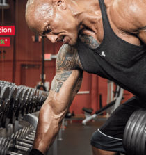 Le programme de musculation de Dwayne Johnson The Rock