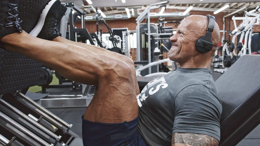 programme entrainement Dwayne Johnson the rock
