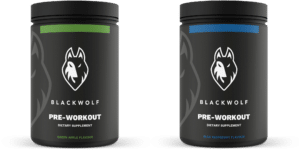 blackwolf pre workout avec caféine