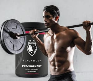 blackwolf pre workout musculation