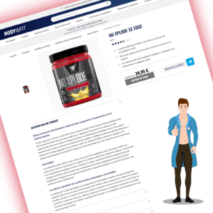 exemple fiche produit body and fit
