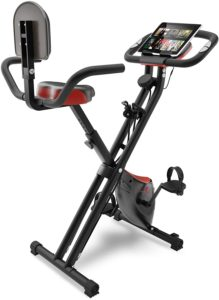 Vélo d'appartement pliable Sportstech X100-B