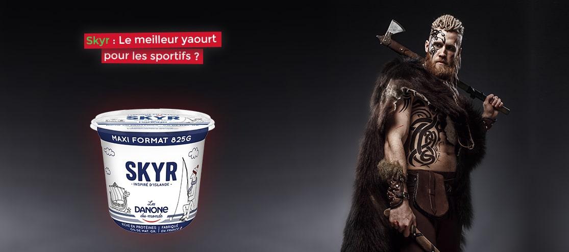 Skyr : Le meilleur yaourt pour les sportifs