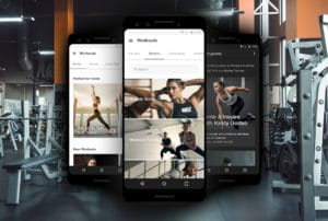 application musculation Nike Training Club